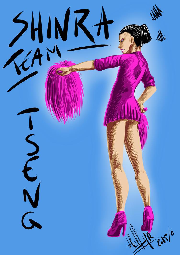 Shin-ra Team, yeay ! by Helfyr