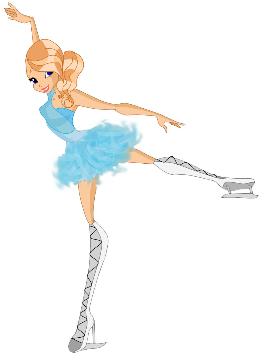 How to Draw an ice skater « Drawing & Illustration  |Drawing Ice Skater
