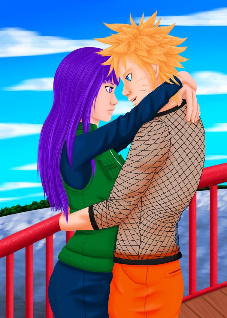 Naruto and Hinata by AlienNinja