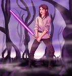 Jaina Solo Jedi Training