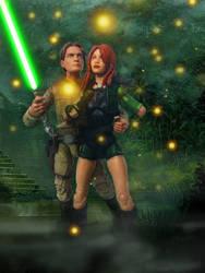 Jacen Solo and Tenel Ka