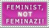 Feminist...