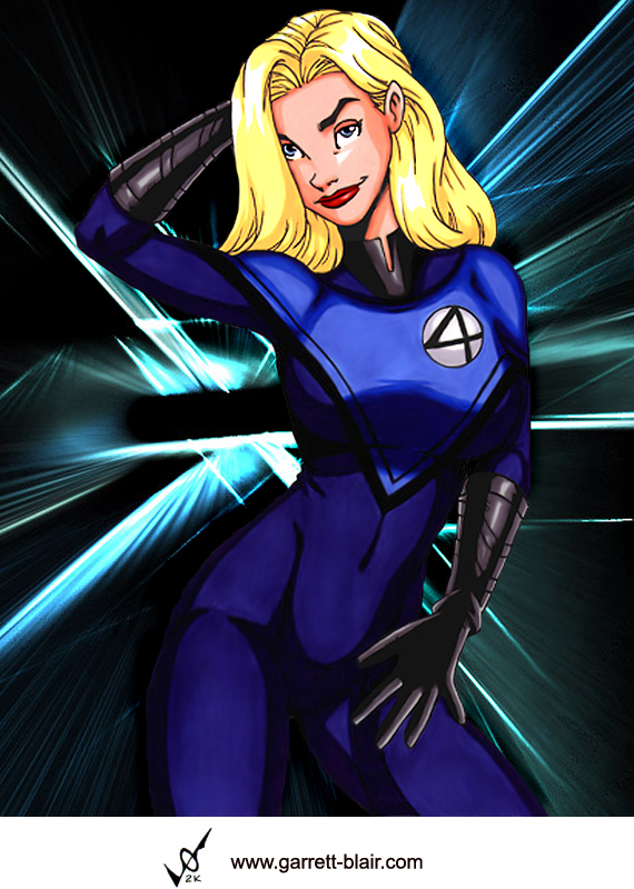 Invisible Woman 2 by G. Blair by Mythical-Mommy