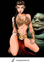 Leia by Garrett Blair by Mythical-Mommy