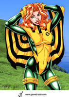 Siryn by Garrett Blair by Mythical-Mommy