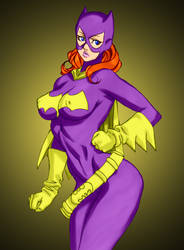 Batgirl by Daikon by Mythical-Mommy