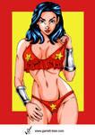 Wonder Girl 3 by Garrett Blair