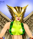 Hawkgirl by Foust