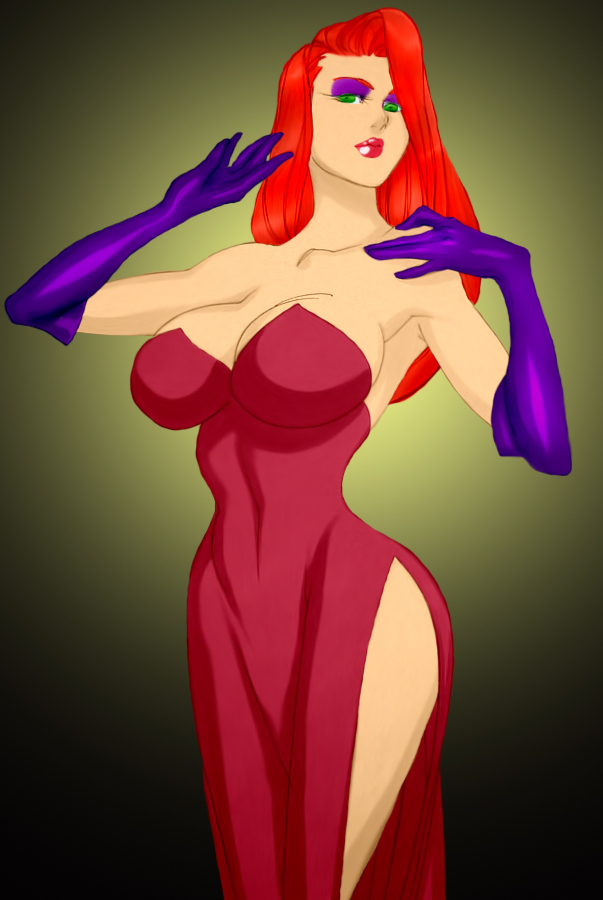 Jessica Rabbit by Daikon by Mythical-Mommy