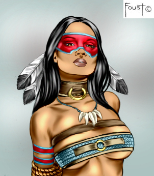 Tribal Captive by Foust by Mythical-Mommy
