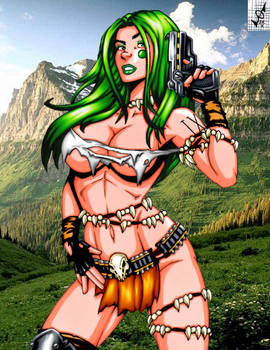 Savage Land Aphrodite IX