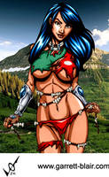 Savage Land Rainmaker by Mythical-Mommy