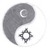 Sun Moon Yin-Yang by GeterBoy