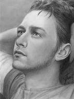 James McAvoy by Bordjukova