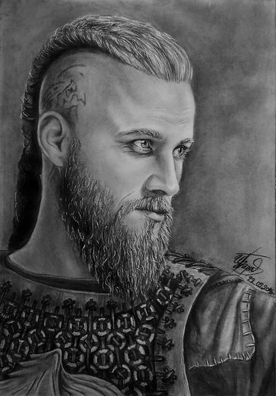 Ragnar Lothbrok By Bordjukova On DeviantArt