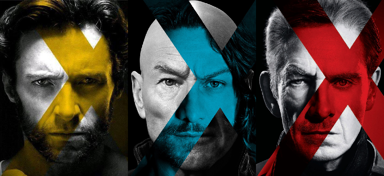 xmen days of future past trio poster by valmont1702 on