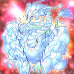 Blue Blossom Dragon