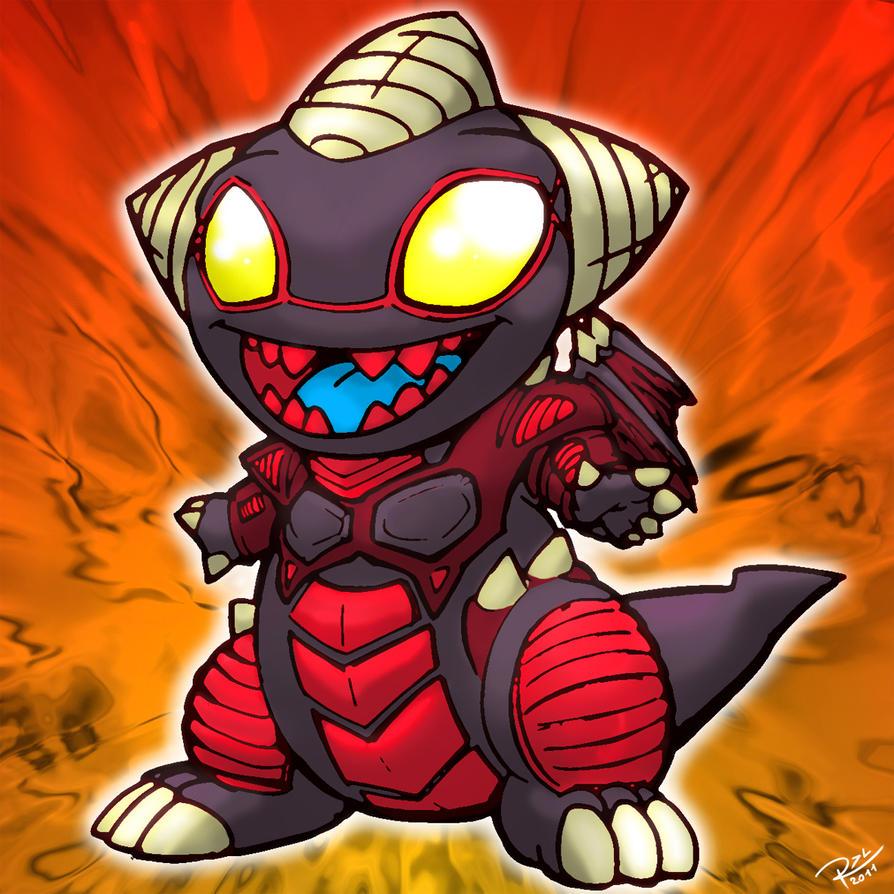 Chibi Red Dragon Archf... Dark Cyber End Dragon