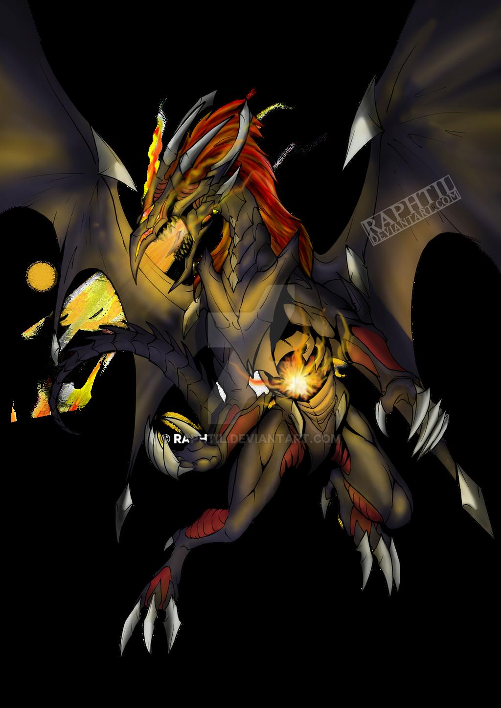 red eyes meteor dragon by serenade87 on deviantart