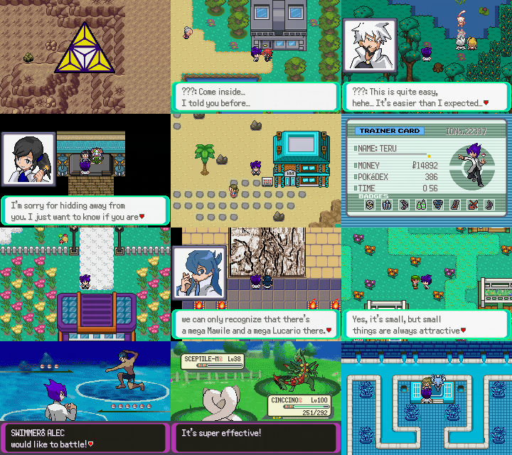 Emerald hack: Pokemon Mega Power (Completed Beta 5 59