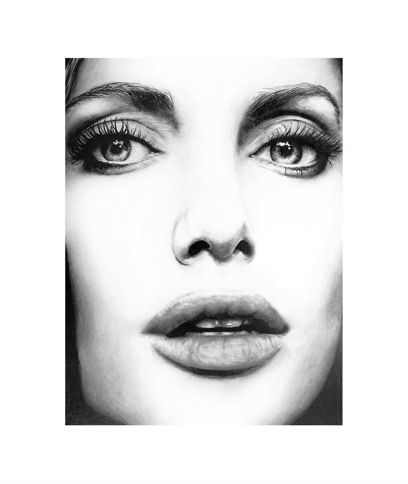 Angelina Jolie By Fabien804