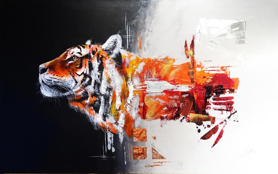 tiger by fabien804