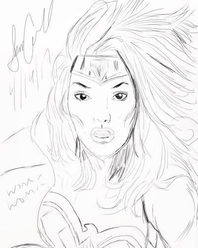 Wonder Woman by 48Comics