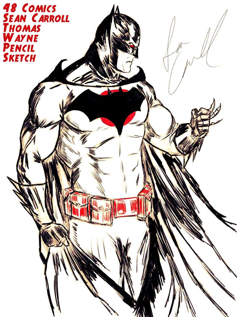 Batman Thomas Wayne by 48Comics