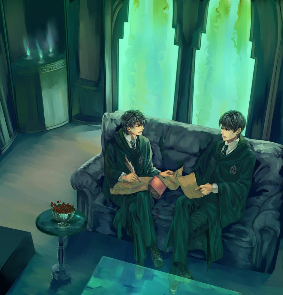in Slytherin by Flayu