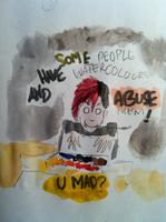 I Have Watercolours by ruojasaatana