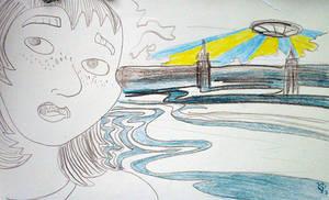 South Bank Spaceship by ruojasaatana