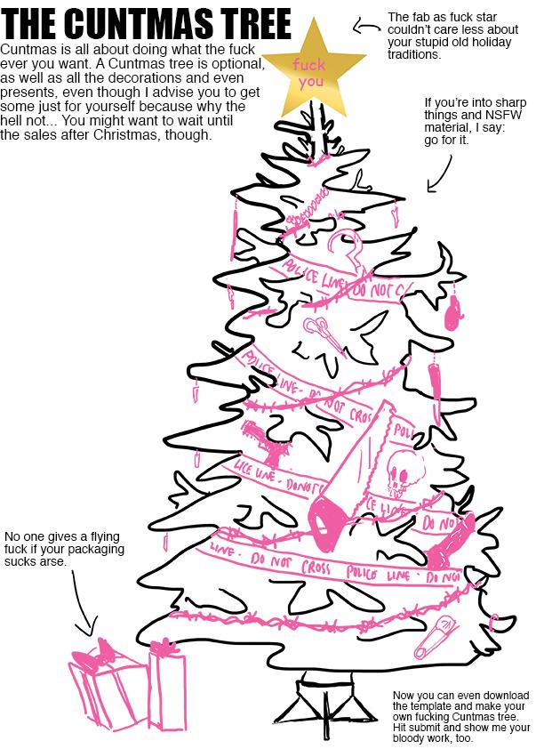 Cuntmas Tree by ruojasaatana