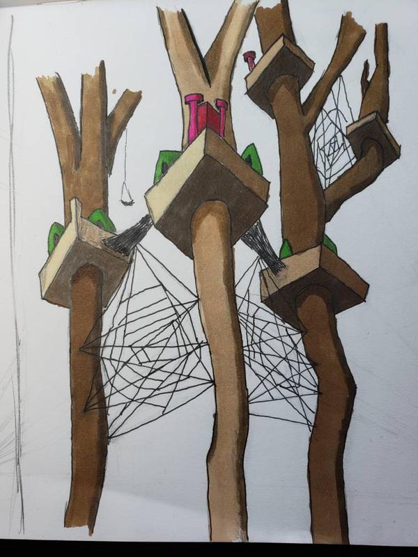 Spider Village by catgirl450