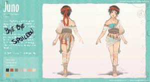 Sheet: Juno by vielmond