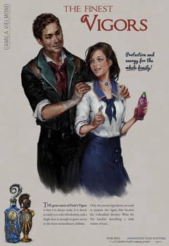 Bioshock Infinite Vigor Poster