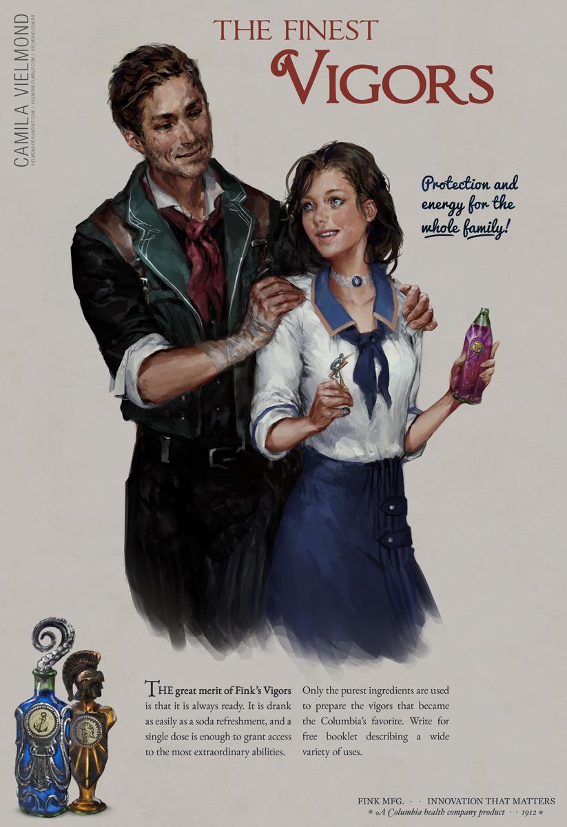 Bioshock Infinite Vigor Poster by vielmond