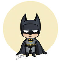 Chibi Batman by CierinBlue