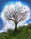 Cloud Tree by CierinBlue