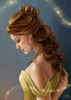 Beauty and the Beast: Princess Belle by CierinBlue