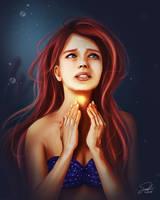The Little Mermaid: Ariel by CierinBlue