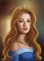 Sleeping Beauty: Princess Aurora by CierinBlue