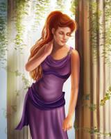 Hercules: Megara Portrait by CierinBlue