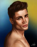 Portrait Study by CierinBlue