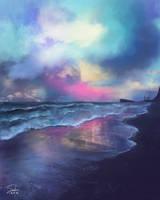Surreal Shores by CierinBlue