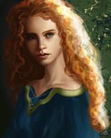 Brave: Princess Merida by CierinBlue