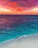 Sunset Beach by CierinBlue