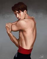 Jackson Wang by CierinBlue