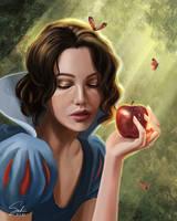 Snow White Portrait by CierinBlue