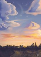 Fantasy Clouds by CierinBlue