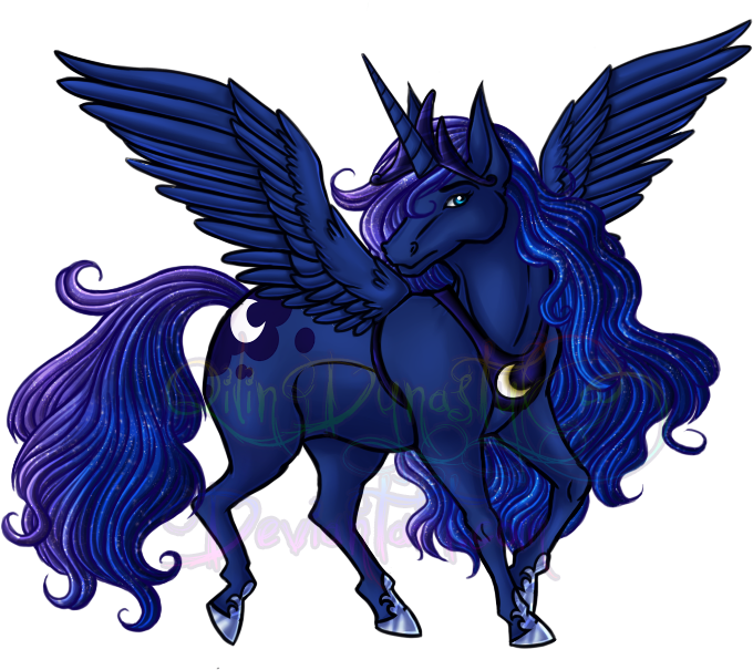 MLP Event - Princess Luna by QilinDynasty